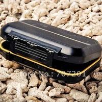 "Waterproof Fly Box Fishing Box Black 5.3""x3.5""x1.4"""