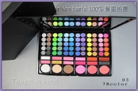 drop ship*Beand New professional make up 78 color eye shadow palette (20pcs/lot)