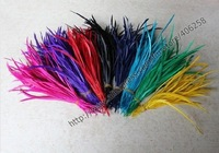 500pcs/lot,Free shopping Natural goose Feather Hair Extension 14-20cm, Feather for hair , Mix color high quality