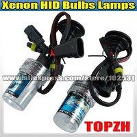 New Free Shipping 2 x Bulbs Headlight Lighting Lamps Car Xenon HID H4 6000K