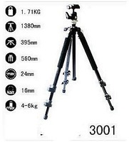 free shipping Professional SLR camera tripod, the tripod head and level with the instrument & free shipping