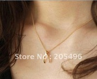 Free shipping~ Gold plated chain Y shape chokers necklaces costume jewelry , wholesale