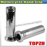 Motorcycle Hand Grip For Hond CBR All Models Chromed TA403