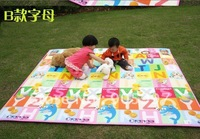10pcs waterproof Meal Mat Meal Picnic Plastic Mat for baby