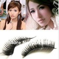 free shipping individual Natural Long Thick False fake artificial Eyelashes Makeup beauty accessory hand-made good quality
