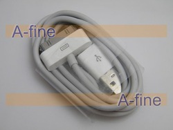 for iphone 4 usb data sync cable with retail packing, New Arrival,free shipping by DHL(China (Mainland))