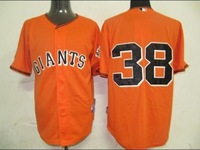 Free Shipping!!!! Baseball jersey San Francisco Giants #38 Brian orange