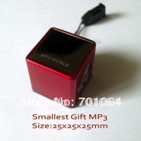 Fast delivery: 1pcs/lot Best gift  Patent Magic Dice mp3 player with FM & Recorder (BTK-2011S)