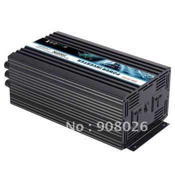 3KW Power Inverter110V/220V AC   Pure Sine Wave1 Year Warranty , Durable Usage,