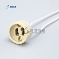 <$10 20pcs GU10 Lamp bases Procelain Wire Connector 250V 100W Free Shipping