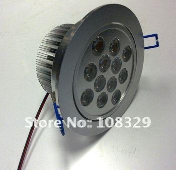 12W LED Downlight,high power,85-265V 1200lm