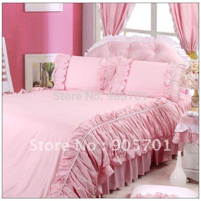 Aliexpress.com : Buy Free shipping~~100%cotton luxury princess bed ...