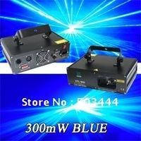 300mW Blue Laser Light DJ Disco Party Stage light