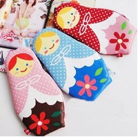 Freeshipping!Wholesale,New Creative Russian Doll Pencil Bag Case/Storage Bag/Pen Pocket/Cosmetic Bag/Functional bag-3colors