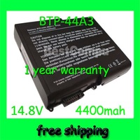 Free shipping&4400mah Battery For Acer Aspire 1200 1400 7850 MS2111 BTP-44A3