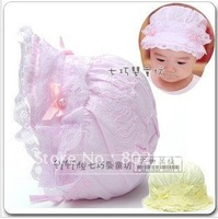 Hot sales baby cap ,baby's hat , cute lovely infant hat ,baby''s wear.