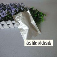 11*16cm Aluminum Foil ziplock Bag foil flat bag vacuum bag food bag 400pcs/lot