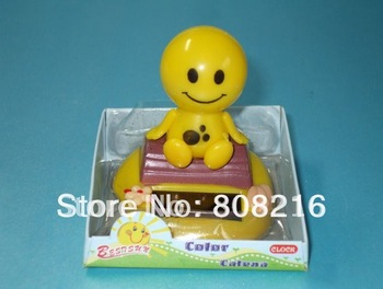 B 12pcs /lot wholesale free shipping new design flip flap solar flower,swing toy solar toy swing flower