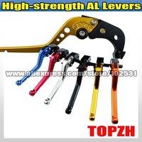 New High-strength AL  Single 1pcs Brake Lever for  FZ6-Fazer/S2 04-10 056