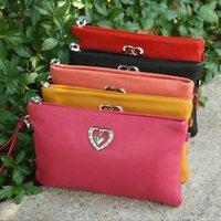 Маленькая сумочка 2013 women's genuine leather clutch evening bag, multifunction handbag shoulder messenger, YSL2122S