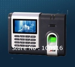 Free Shipment TCP/IP EM & Fingerrpint Time Attendance System X638(China (Mainland))