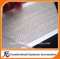 Transparent rhinestone trimming+ Free Shipping+100 yards