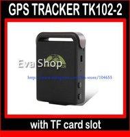 Realtime Original Car Tracker Universal Mini GSM GPRS GPS Tracker Tracking Device TK102-2 - Free shipping
