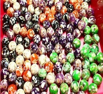16mm 40pcs mix colors round natural shell beads fit bracelet&necklace loose beads jewelry beads wholesale free shipping SB019