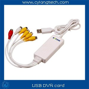 USB DVR card 4 ch video input,2 ch audio(China (Mainland))