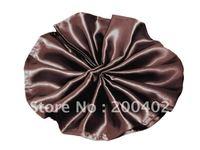 plain satin napkin chocolate brown  color  for wedding/napkins