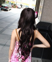 High Quality,90%  human hair , Full lace wig,human hair wig,long body wave,Free Shipping