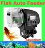 Digital Automatic Aquarium Fish Feeder Food Fish Tank Food Auto Timer/ Aquarium auto feeder Freeshipping