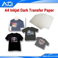 20 sheets A4 Inkjet T-shirt Dark Transfer Paper for Heat Press