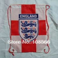 Wholesale England football back pack bag/shoe bag