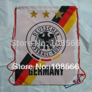 wholesale  Germany  football back pack bag / shoe bag sport backpacks