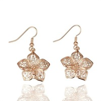 BM231  wholesale luxury 18K Gold plated Sparkling Crystal earring
