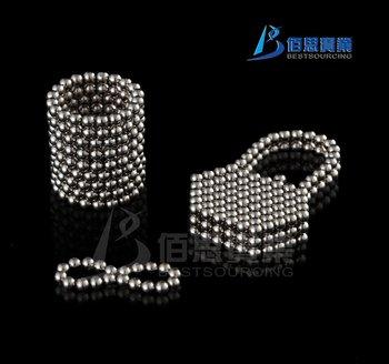 216pcs 3mm Silver Neo Cubes/Magnetic Balls/Neocube Balls