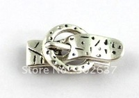 FREE SHIPPING 15Sets Tibetan silver buckle magnet clasp for 10x2mm leather cord A15195