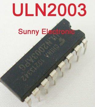 50 x ULN2003APG ULN2003 ARRAY-7 NPN Darlington Transistors DIP
