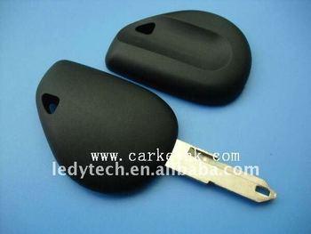 High quality Renault no logo transponder key cover shell blank