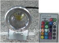 12V 10W RGB LED Floodlight / sign light / Landscape / advertising lamp / led garden light 10W RGB led spotlight