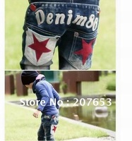 free shipping wholesale 5pcs/lot  children clothing kids wear  jeans pant denim  pant causal pant