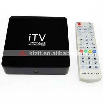 "X9 iTV 2.5"" HDD 1080P Full HD Internet TV Box With Mtv & Game"