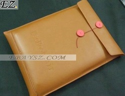 Free Shipping Document Style PU Leather Pouch Case Cover for Macbook Air 11.6 Laptop IP-0998 Wholesale/Retail
