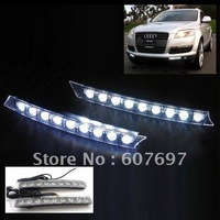 5W 9-LED Audi A6 Style Day Driving Light White