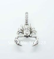 Fashion Jewelry 925 sterling silver scorpion charm sa62