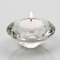 Wedding gifts,grace diamond shape tealight candle holder by FREE shipping  via DHL