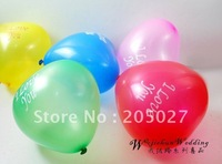 "Freeshipping Wholesale - 7"" Latex Decorative Balloons For Wedding Birthday party 1000pcs/lot party balloons wedding balloons"