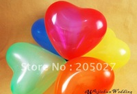 "Freeshipping Wholesale - 7"" Latex Decorative Balloons For Wedding Birthday party 100pcs/lot party balloons wedding balloons"