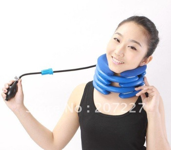 Neck Traction Collar Relief Cervical Headache Head Back Shoulder Pain Stress Air